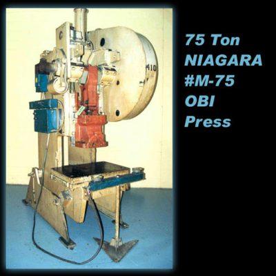 75 Ton Press