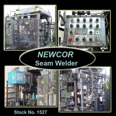 Welder | NEWCOR Seam Welder w Chiller