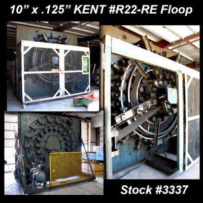 10″ (254mm) x .125″ (3.175mm) KENT R22-RE Vertical Floop