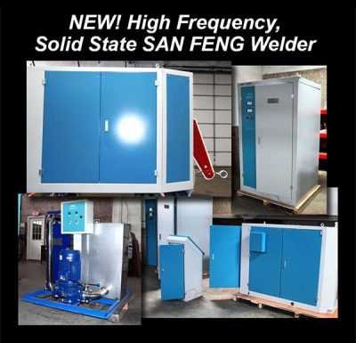 Welder | NEW 300 KW SAN FENG High Frequency Solid State Welder