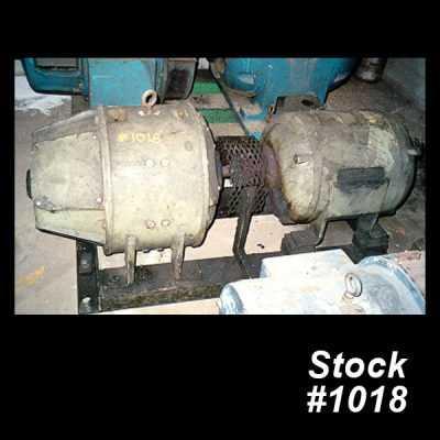 50 HP Motor Generator