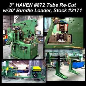 haven tube re-cut for sale