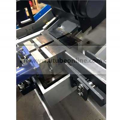 new flying cold saw hydraulic clamp