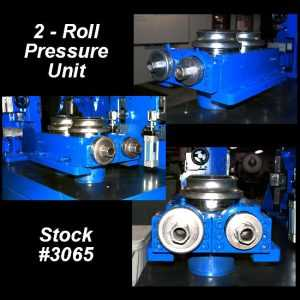 used 2-roll weld pressure unit