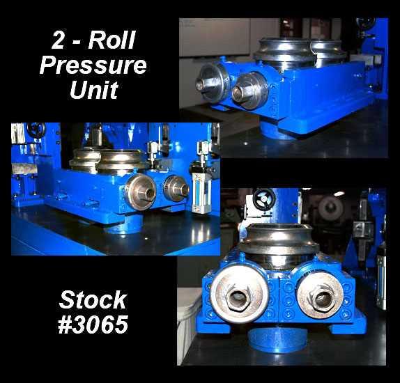 used 2-roll weld pressure unit