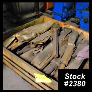 Crate of YODER W20 Shafts