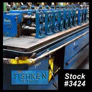 Tishken 12 Stand Rollformer