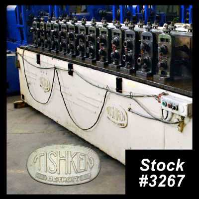 14 Stand Tishken Rollformer