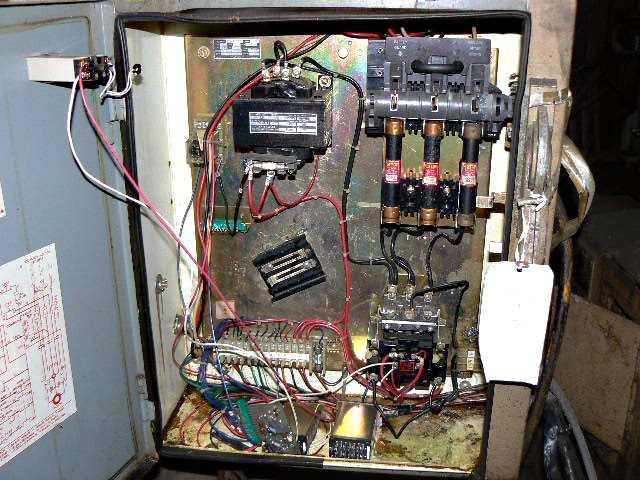 2-Post Cut-Off Press Controls