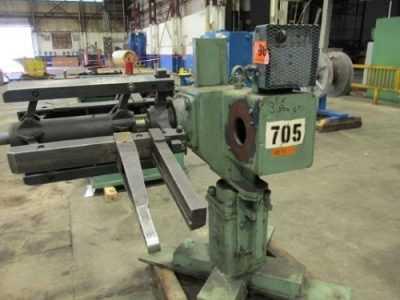 3000 Lb Hydraulic Uncoiler For Sale