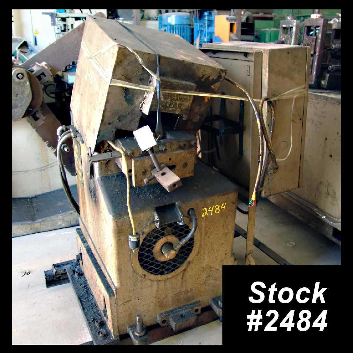 5 ton 2-post cut-off press
