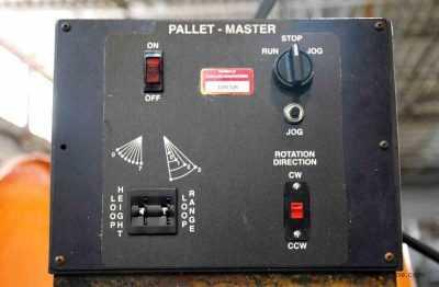 5000 Lb Pallet Uncoiler 1 HP Drive