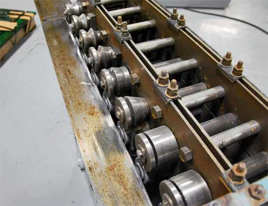 8 Stand Rollformer 1 Inch Spindles