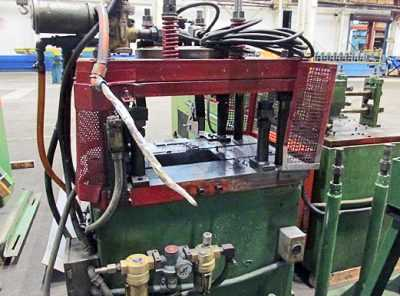 10 Stand B & K-MV Rollforming Line CUT OFF 01