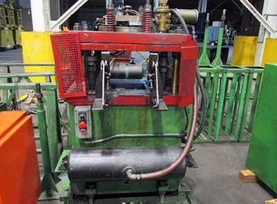 10 Stand B & K-MV Rollforming Line CUT OFF 02