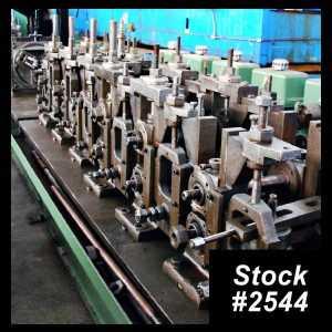 38 mm Tube Mill Line 2544