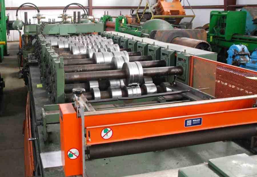 Bradbury Panel Rollformer 2910 1