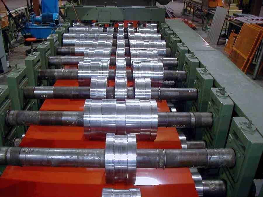 Bradbury Panel Rollformer 2910 3