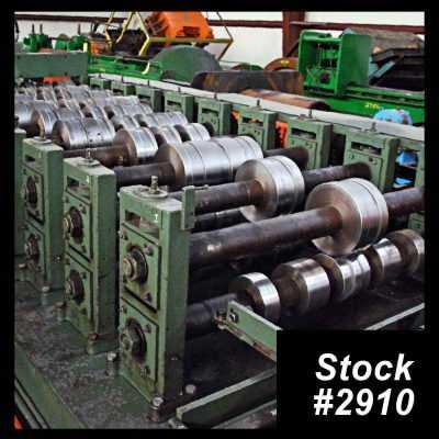 Bradbury Panel Rollformer 2910