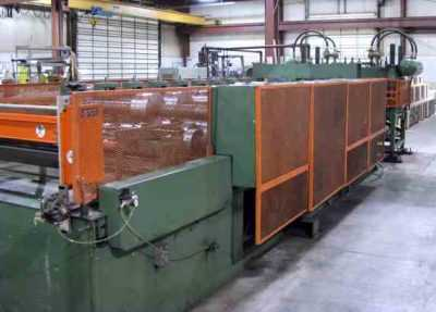 Bradbury Panel Rollformer 2910 5