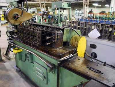 Used Tishken Rollformer 2760 03