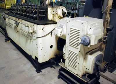 tishken rollformer with coolant pump 2953