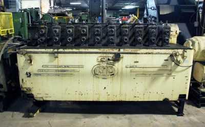 tishken rollformer with straightener stand 2953