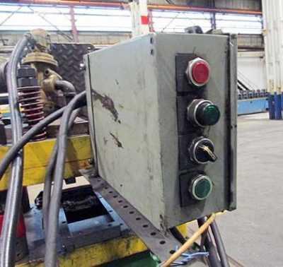15 Stand B & K-MV Rollforming Line CONTROLS 02 3087