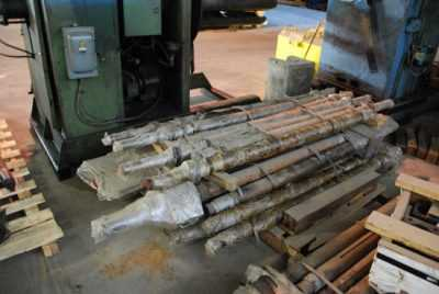 Rollform Stand Assembly Roll Shafts