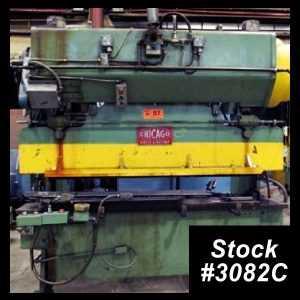 60 Ton Press Brake 3082C