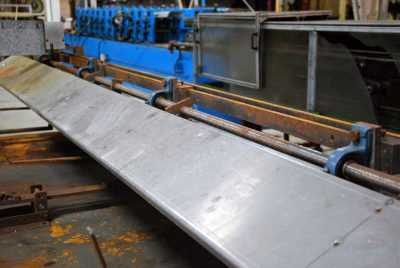 Rollformer Flying Cut Off Dump Table 3501-07