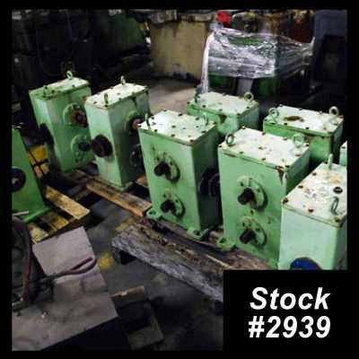 Used Yoder Gearboxes 2939