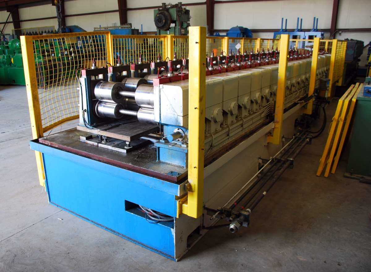 Panel Rollformer For Sale Used 24 Stand X 2 1 2 Duplex Type