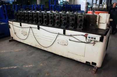 10 HP 14 Stand Tishken Rollformer 3267 03
