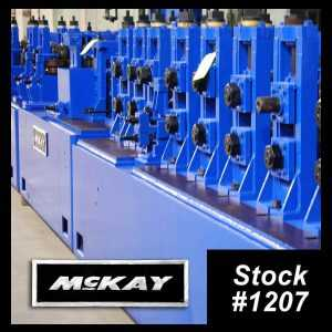Mckay Tig Tube Mill
