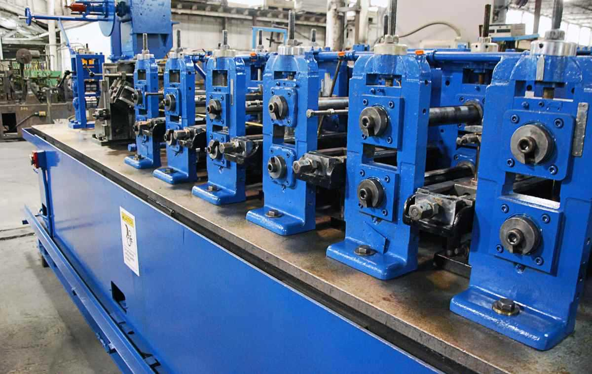 Used Yoder M2 Tube Mill For Sale 2 1 2 Quot Od Perrysburg Ohio