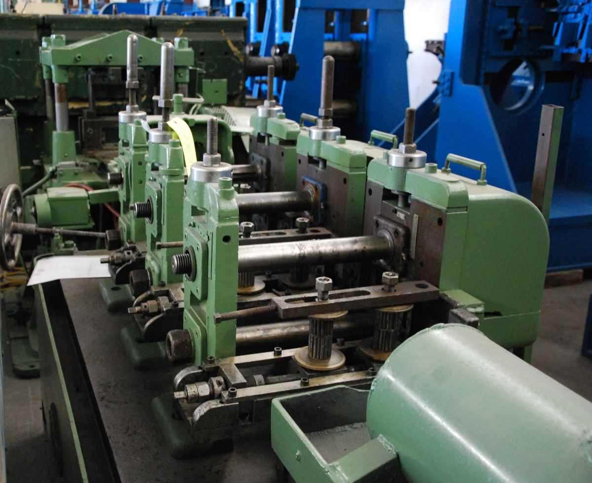Used 2 1 2 Quot Yoder M2 Erw Tube Mill Line For Sale