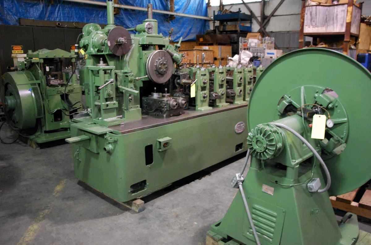 Yoder M2 Tube Mill Line 2878