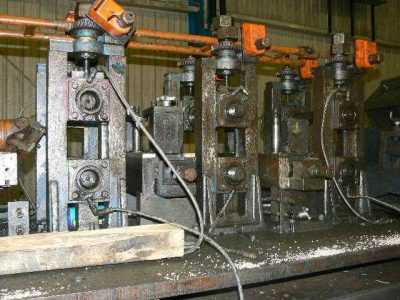 Forming Raft Tube Mill Rafts 2857