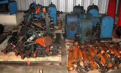 Mill Rafts 2858 Gearboxes