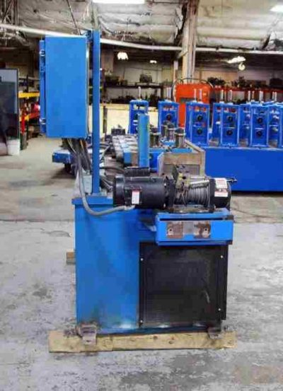 Used 7 Roll Straightener Winch