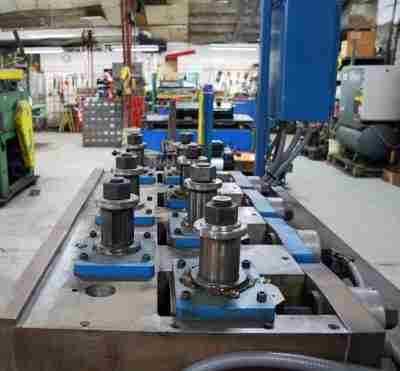 Used 7 Roll Straightener Driven Rolls