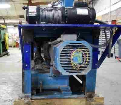 Used 7 Roll Straightener 10 HP Motor