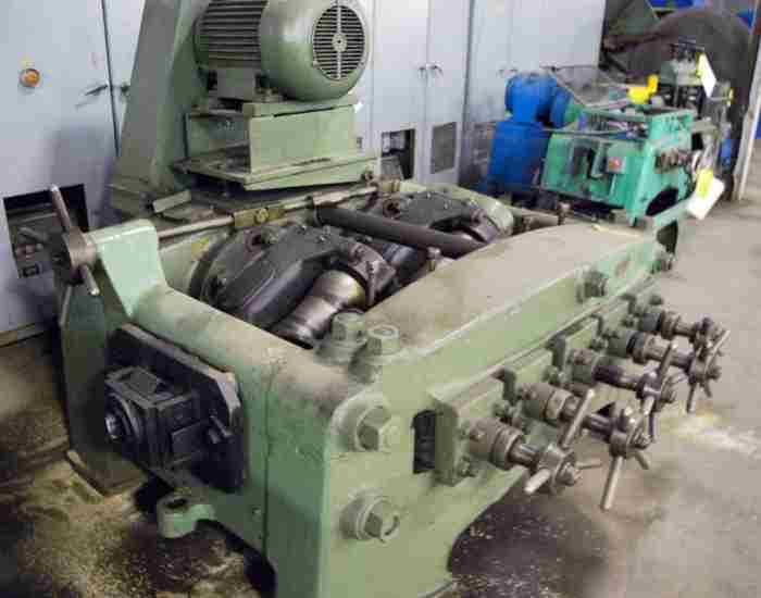 used tube straightener Bigwood 7-Roll