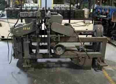 Burrmster No 8 Used Deburring Machine