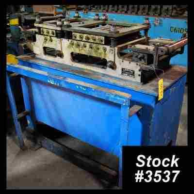 16-Roll Stock Straightener