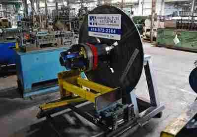 SHEET METAL AUTOMATION Single Uncoiler 2500 lb
