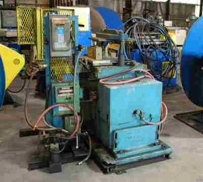 Used 12 Ton Cut-Off Press Central Grease
