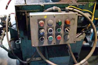 Used 12 Ton Cut-Off Press Push Buttons
