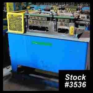 Used 16-Roll Stock Straightener